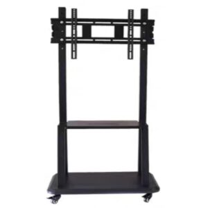 tv mobile trolley floor stand with wheels for 32 to 65 inch tv
