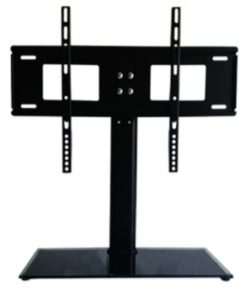 universal tv table stand come with bracket