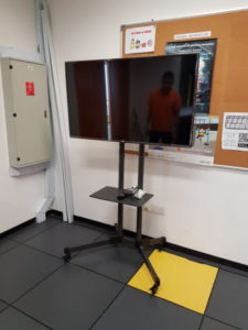 Supply TV Stand for NTU Singapore