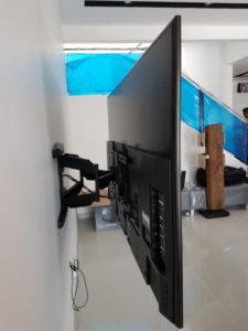 TV Bracket Double Arm Full Motion Mount