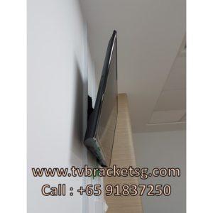 tilting tv wall mount bracket installation at hospital
