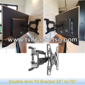 Full Motion TV Bracket Singapore is the Best Option to Watch Television from Any Angle with Convenient
