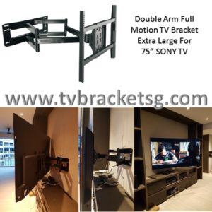 Why TV Bracket Singapore Installation Should Be Left to the Professionals