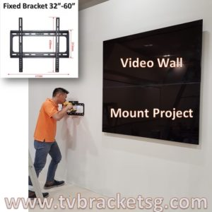 How to Install Flush TV Bracket Singapore