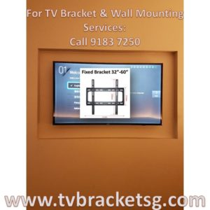 Here's Why You Need to Choose the Right LCD TV Bracket Singapore For Your TV