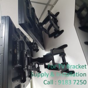 3 Types of LCD TV Bracket Singapore for Your Consideration