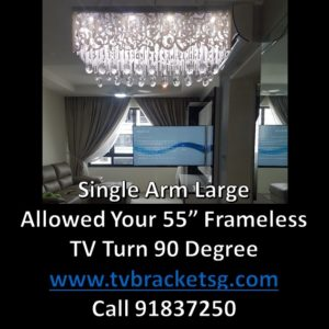 Why should you install the TV on walls using TV brackets?