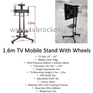 How much does it cost for a TV mount installation in Singapore?