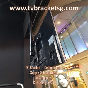 There is Also TV Bracket in Singapore for Ceilings