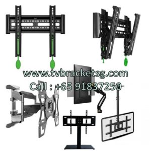 6 different types of TV mounts Wwall Bracket in Singapore: Which one is the best for you?