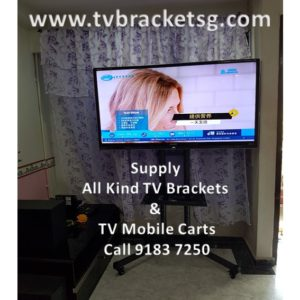How to wall mount Samsung QLED TV with the help of TV Bracket in Singapore?