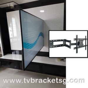 Can you install a TV in the bathroom in Singapore