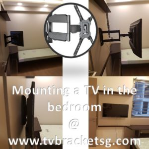 Mounting a TV in the Bedroom in Singapore