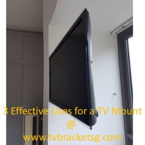 3 Effective Uses for a TV Mount and Where to hide cords of a wall mounted TV