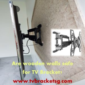 Have you at any point thought about whether you could mount your TV bracket on a wooden wall