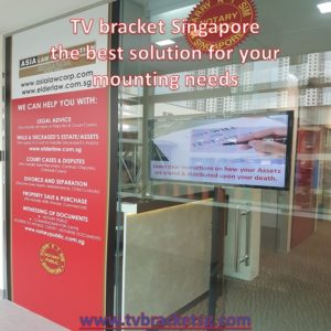 Choose Tv bracket Singapore for the best Mounting services