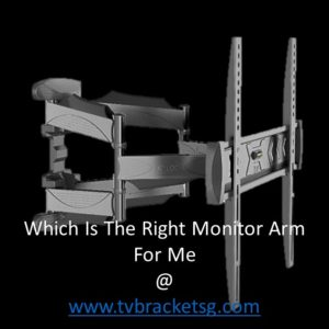 Which Is The Right Monitor Arm For Me in Singapore