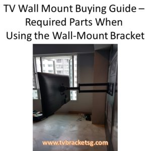 TV brackets area in huge demand in Singapore these days, because of the plasma LCD sets introduction. It is generally known as installing a TV bracket is quite easy.