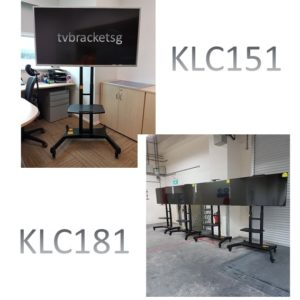 klc151 and klc181 tv mobile stand in singapore
