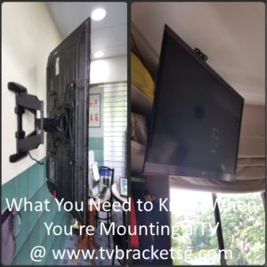 What You Need to Know When You're Mounting a TV in Singapore