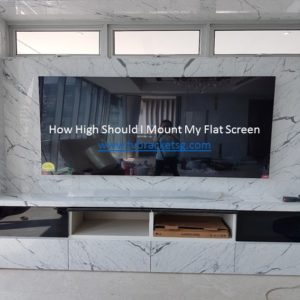 How High Should I Mount My Flat Screen in Singapore