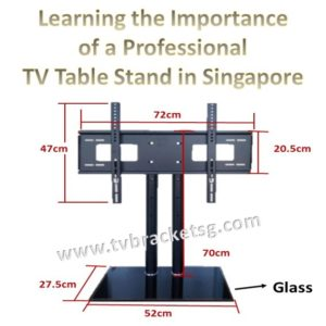 Learning the Importance of a Professional TV Table Stand in Singapore