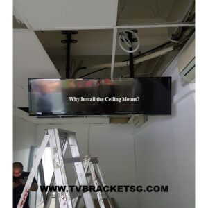 Why installing ceiling tv mount bracket in Singapore